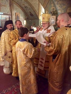 Liturgie pontificale du 22 novembre 2019