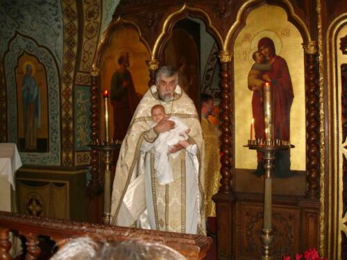 Baptême de Matthias